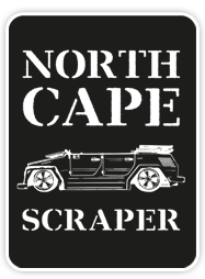 der North-Cape-Scraper - mit dem Custom Kübel ans Nordkap